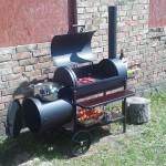 Kepsninė su rūkykla MGS-020 Metalo gaminiai