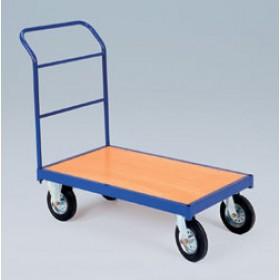 Prekybinis vežimėlis su krepšiu PLN-041 Vežimėliai