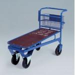 Prekybinis vežimėlis su krepšiu PLN-104 Vežimėliai