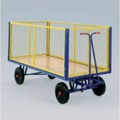 Sunkiasvoris vežimas konteineris TSK-224 Vežimėliai