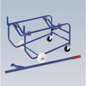 Vežimėlis statinei su riedučiais DSM-200